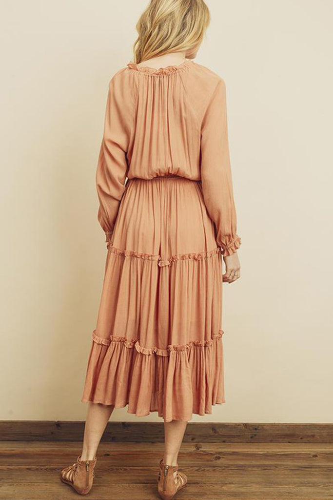 Be My Girl Maxi Dress by For Good