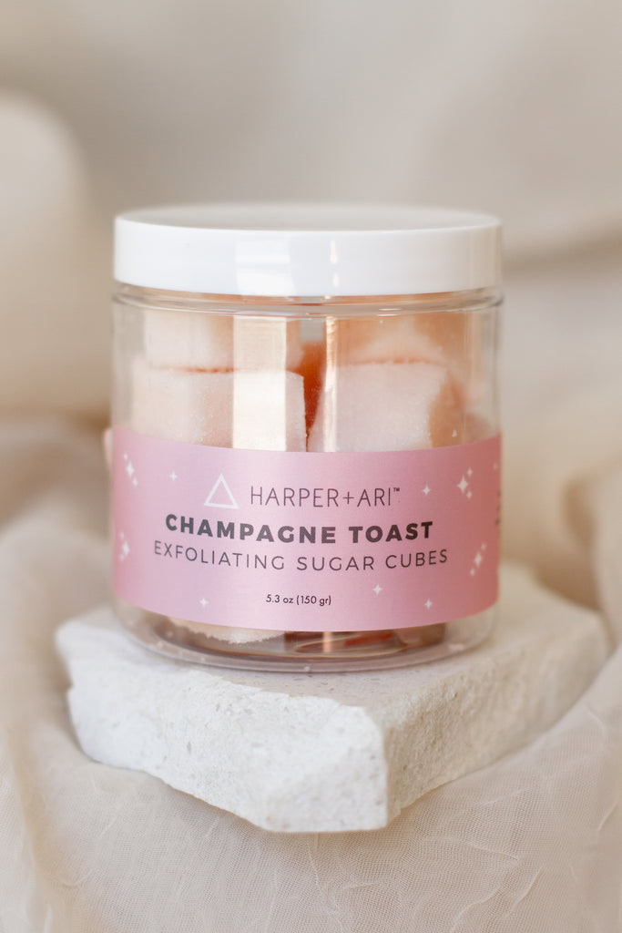 Exfoliating Sugar Cubes By Harper + Ari