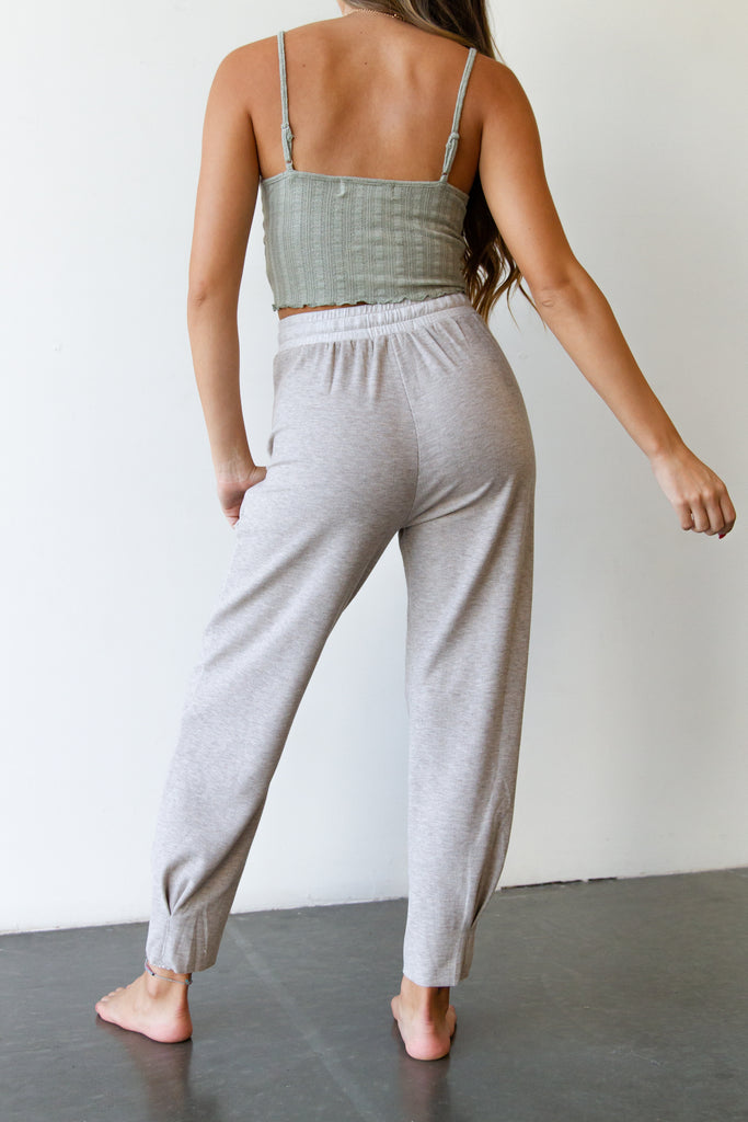 Speak Sweetly Fleece Joggers By For Good