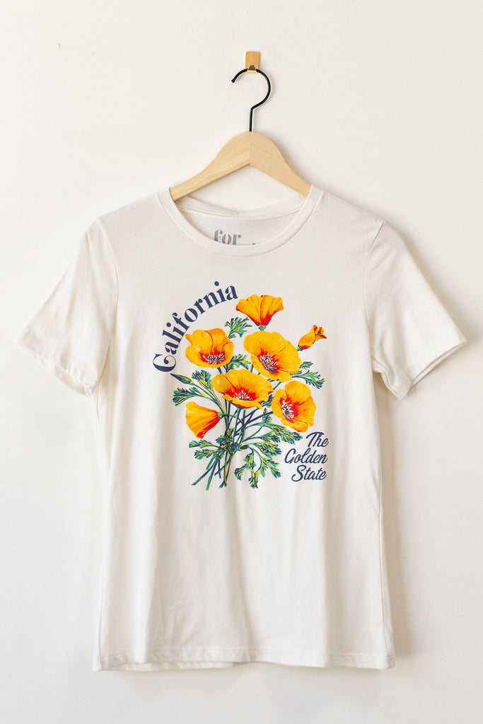 California Poppy Graphic Tee By For Good