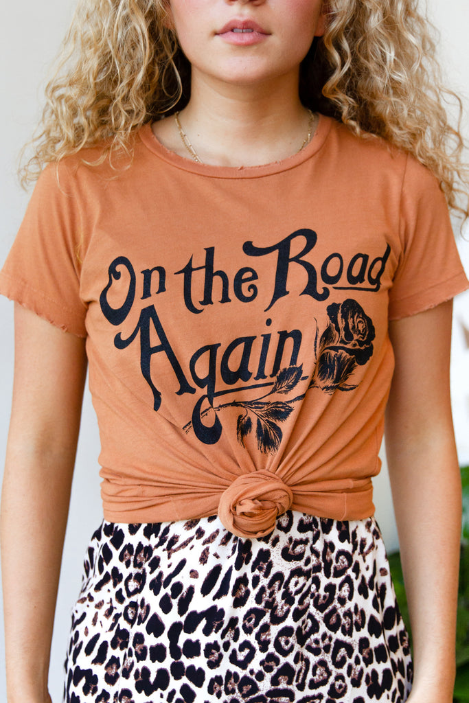 On The Road Again Top by Bandit Brand
