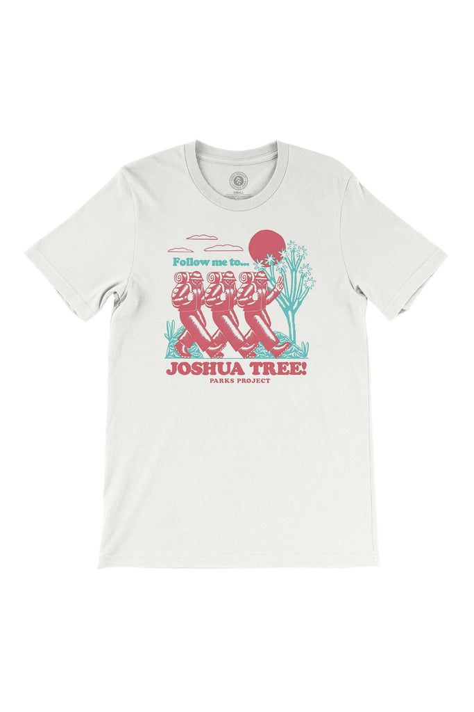 Joshua Tree Hiker Graphic Tee by Parks Project