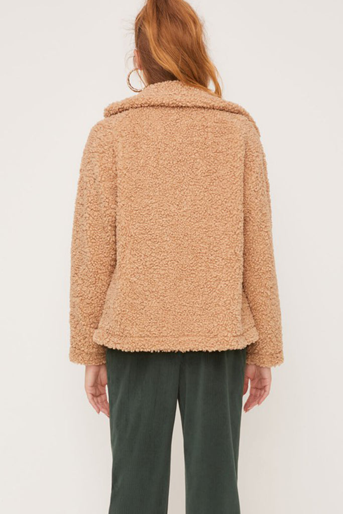 Moving On Sherpa Jacket By For Good