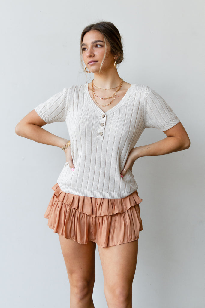With Me Knit Top