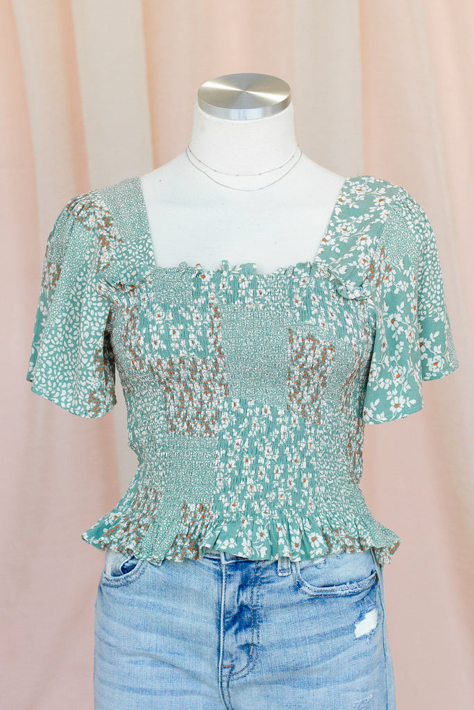 Dreamy Eyes Floral Top