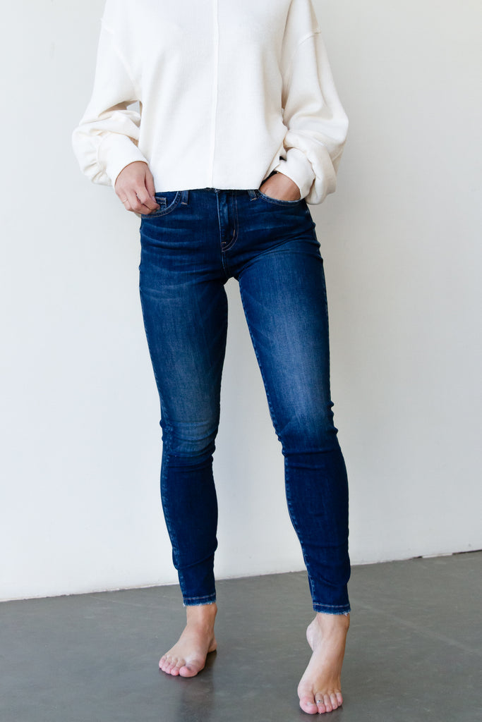 The Olivine High Rise Skinny Jeans By Nectar Premium Denim
