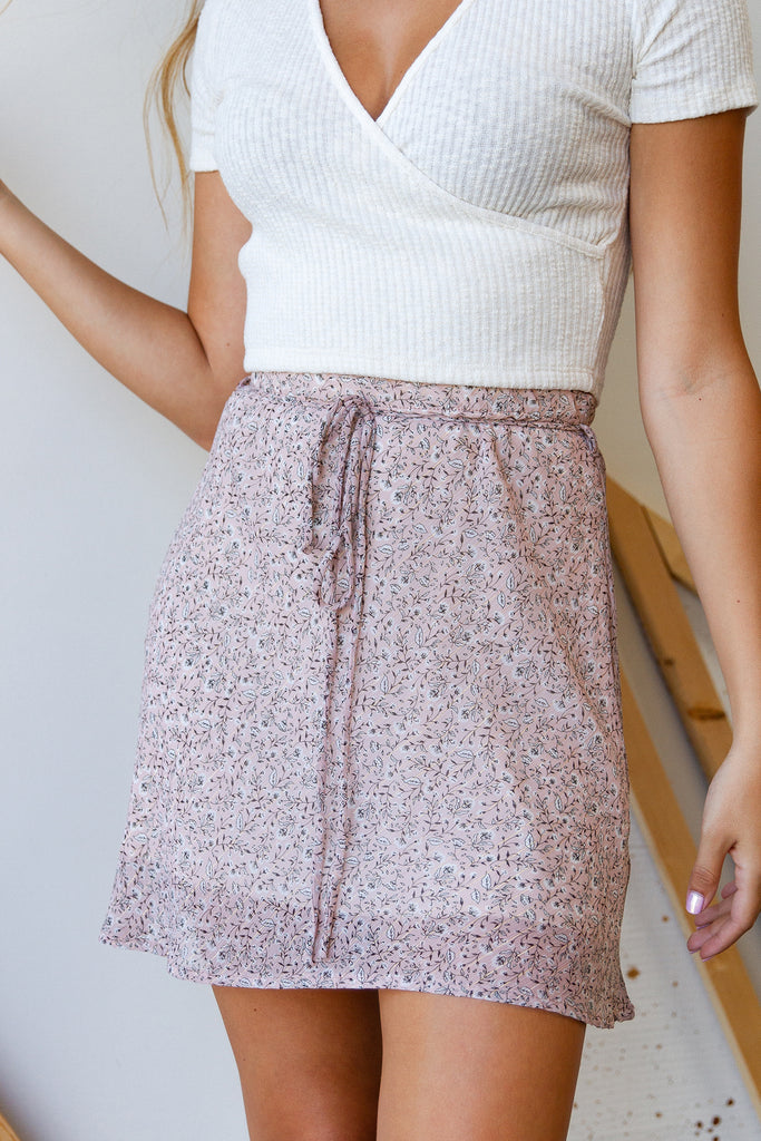 The Greatest Show Floral Skirt