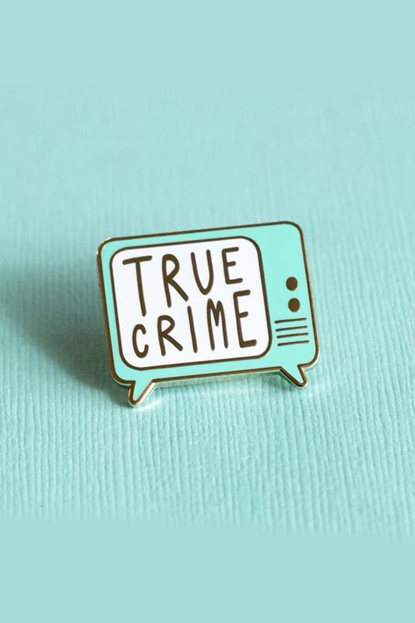 True Crime Pin by For Good