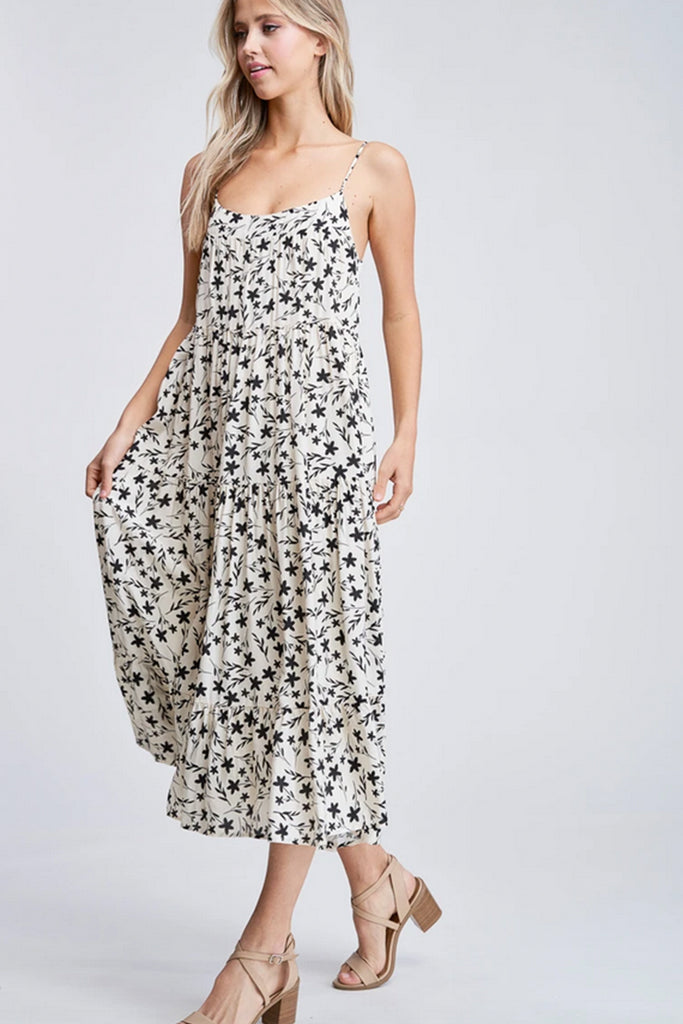Come Back To You Floral Maxi Dress by For Good