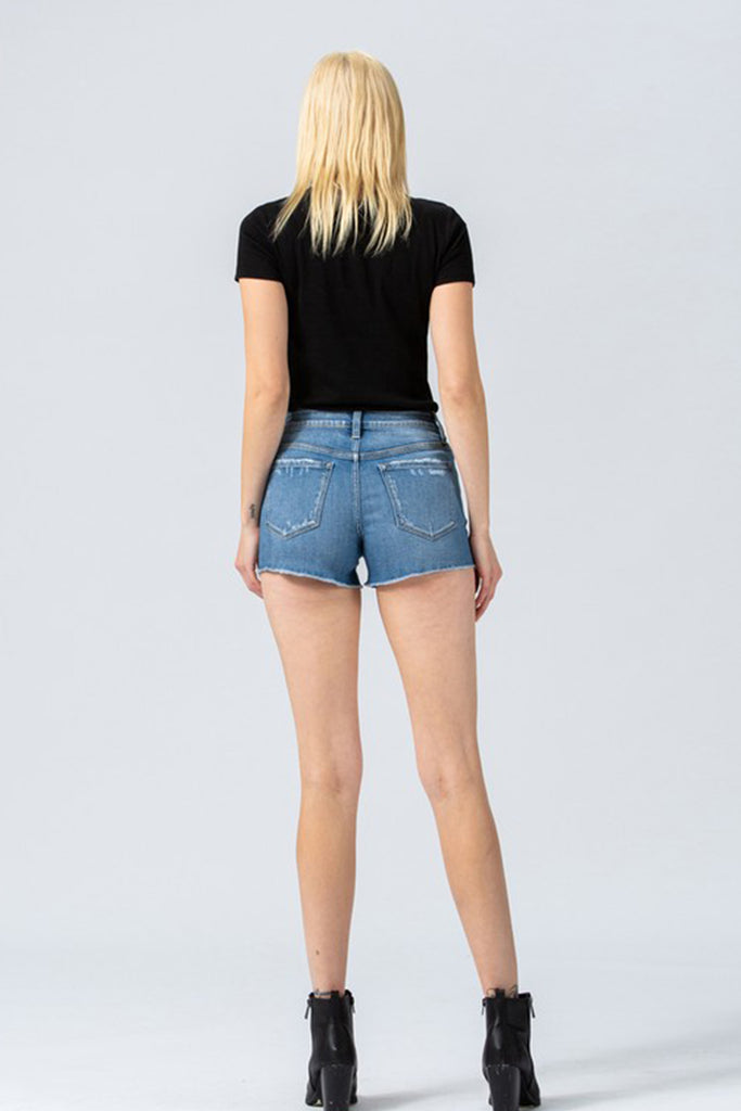 Don't Be Lonely Denim Shorts
