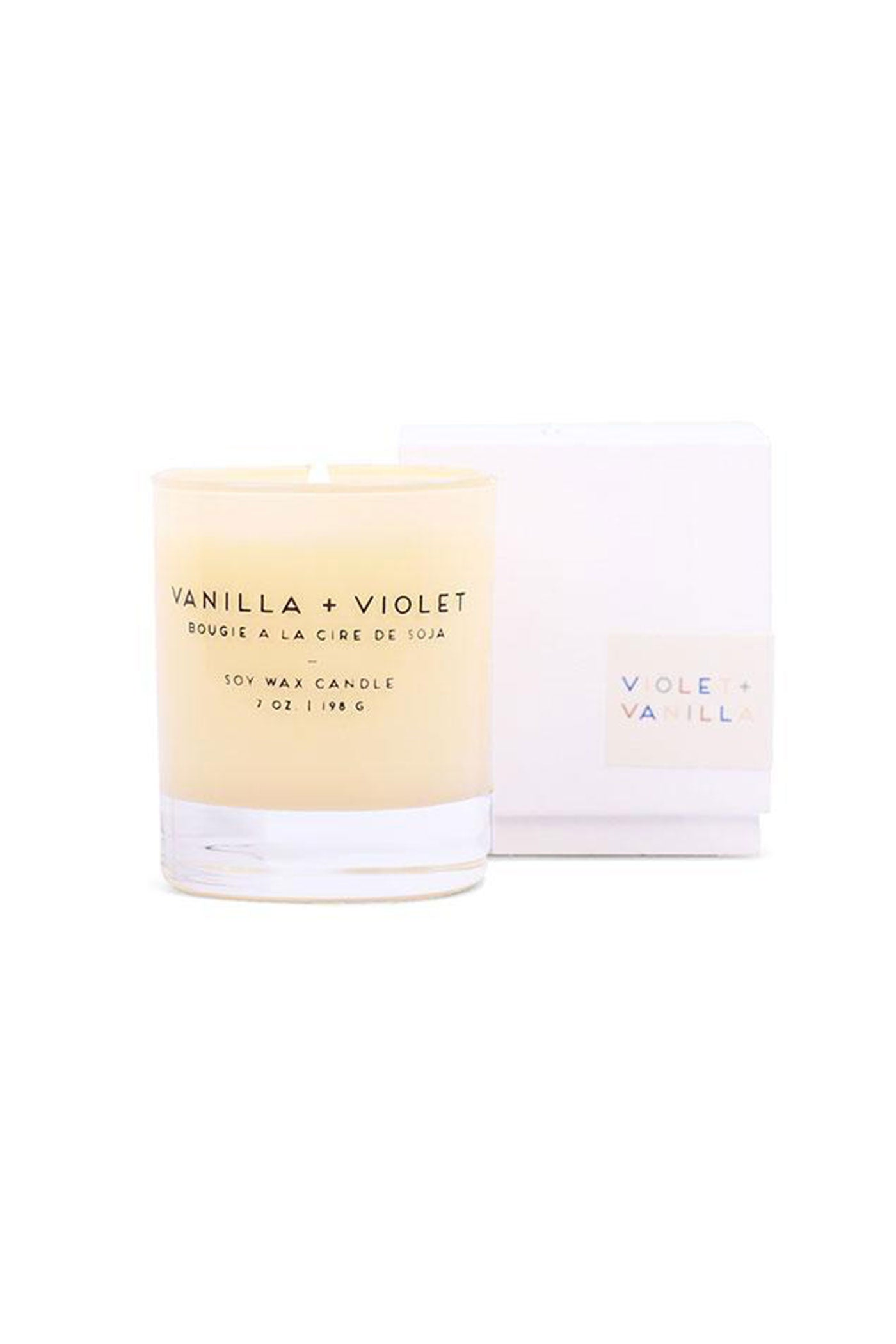 Violet + Vanilla 7oz Candle by Paddywax