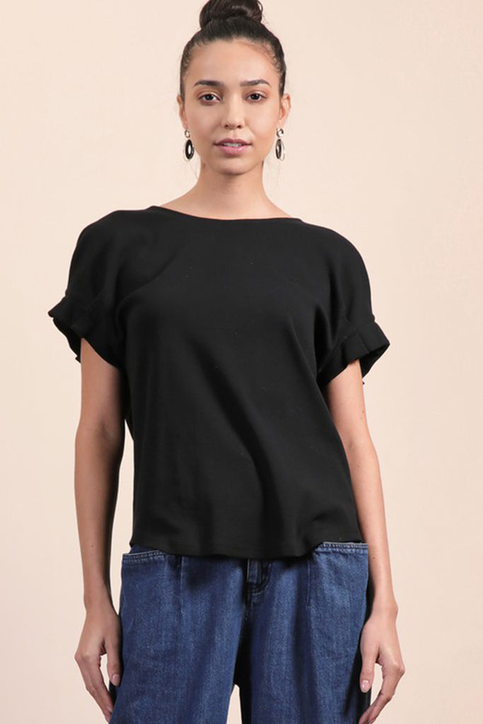 Oh My Love Short Sleeve Top by For Good
