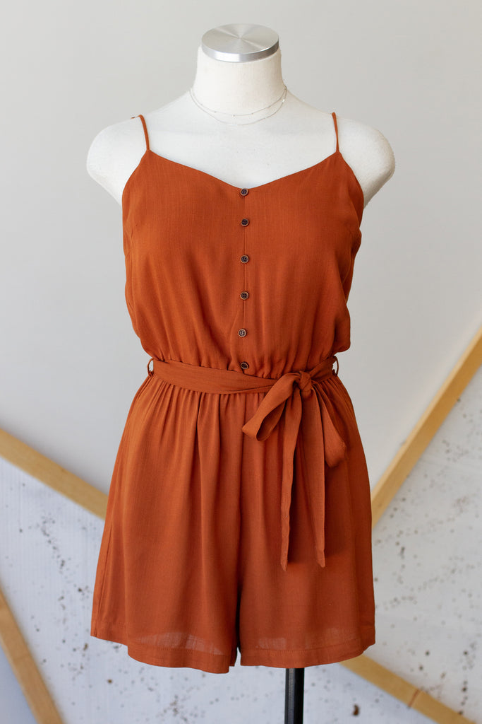 Something Real Cami Romper