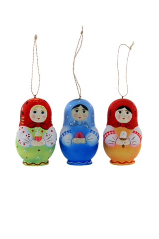 Sweets Matryoshka Doll Ornament by For Good