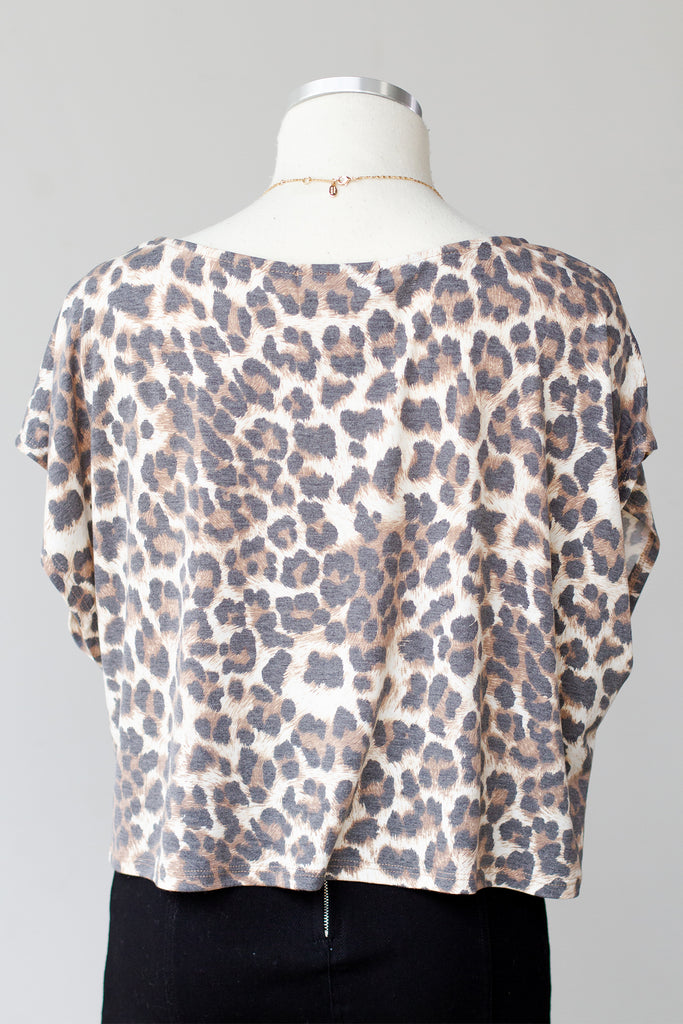 Wait For Me Leopard Print Top by For Good