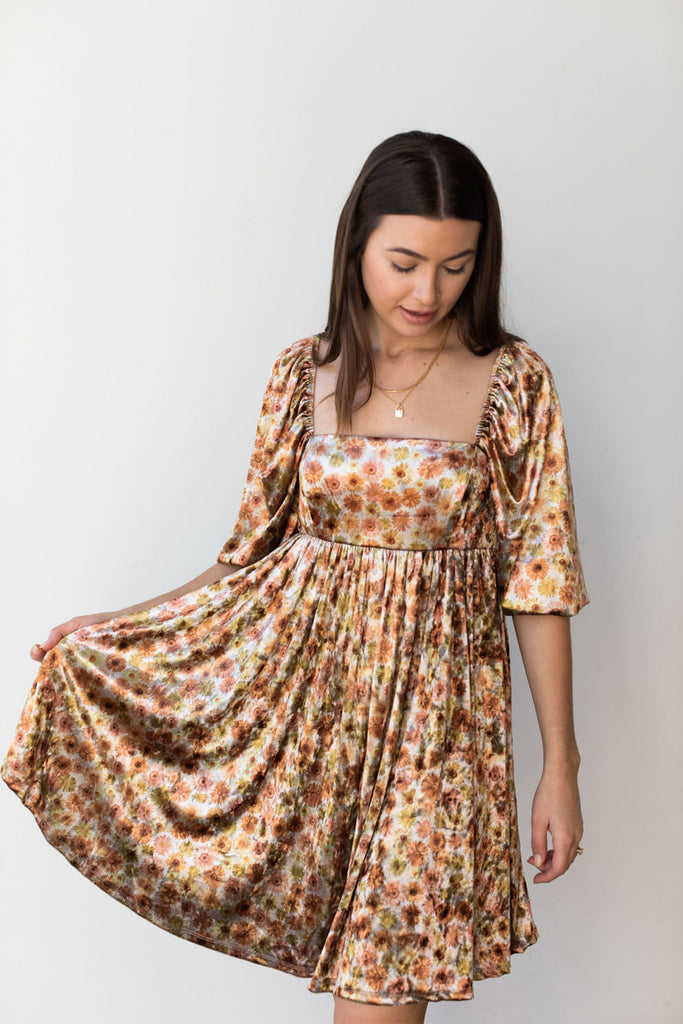Falling Slowly Floral Dress By For Good