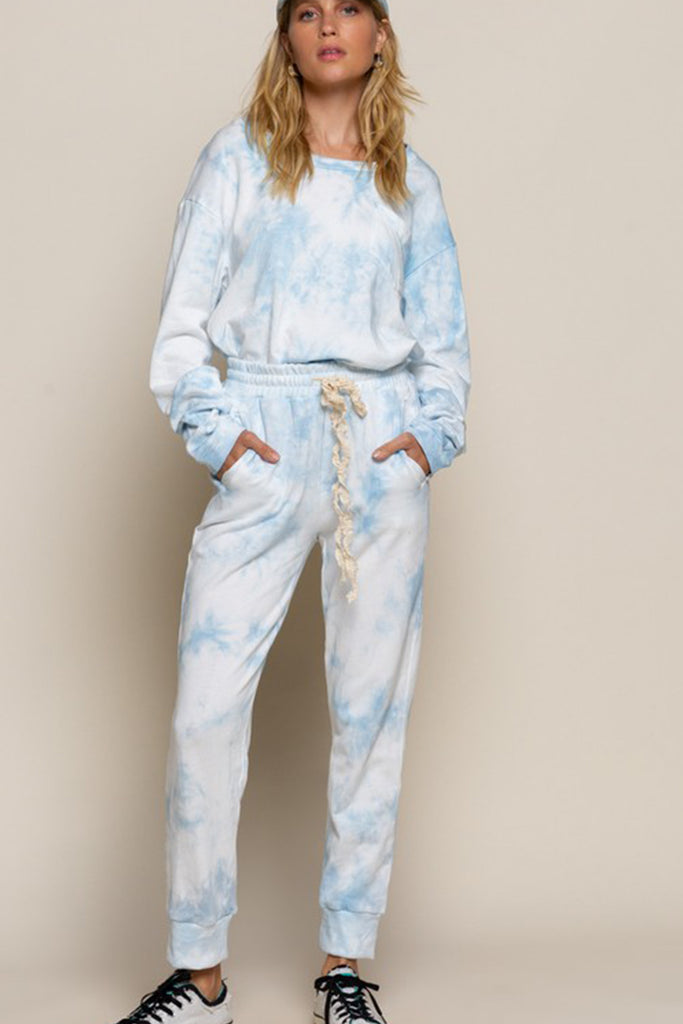 Say When Tie-Dye Pants by For Good