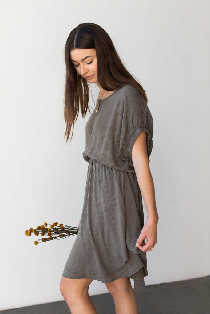 Low Key Animal Print Dress By For Good