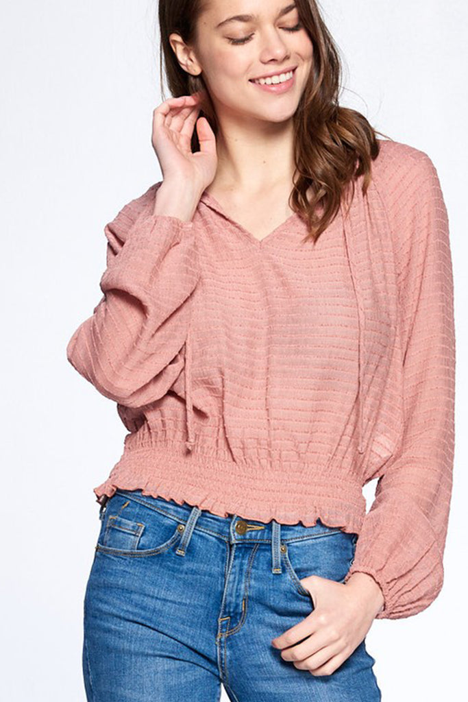 Girly Girl Long Sleeve Top