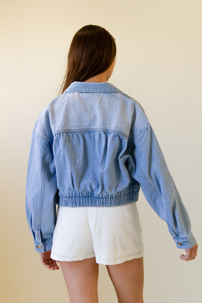 Be Honest Denim Jacket