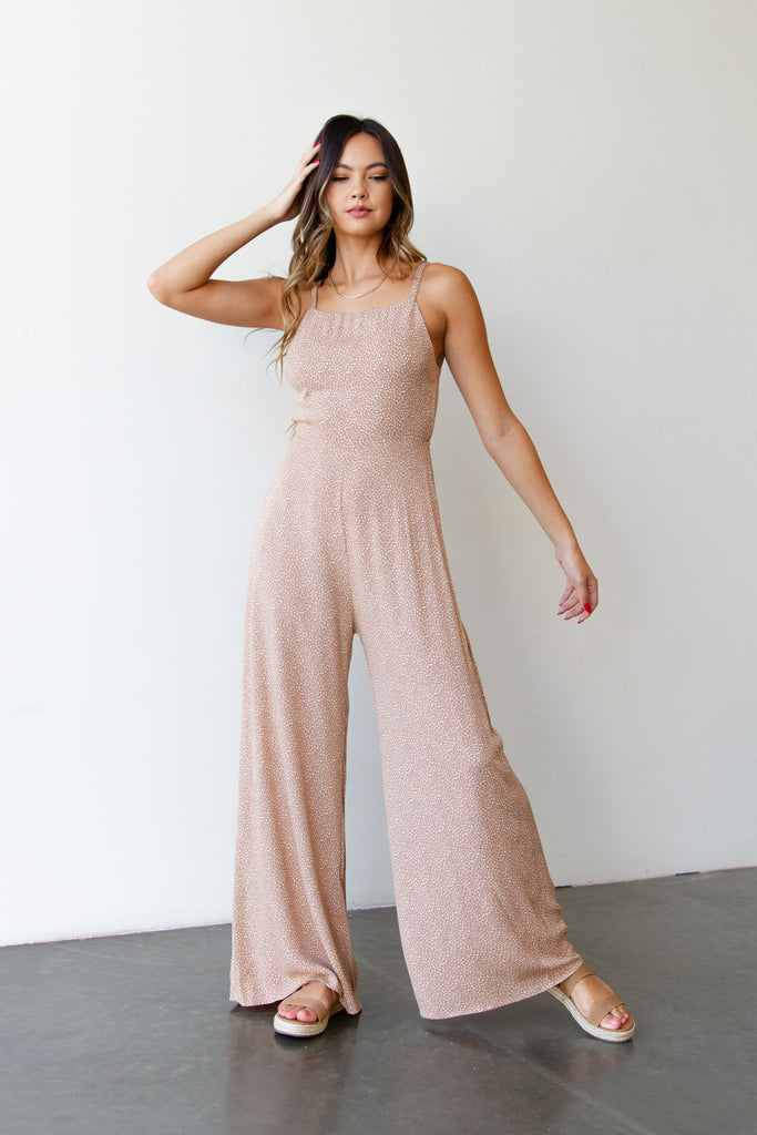 Miracles Happen Cami Jumpsuit