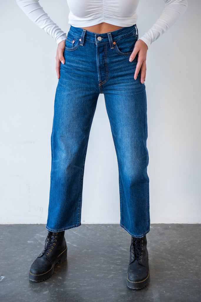 Ribcage Straight Ankle Fit By Levi's
