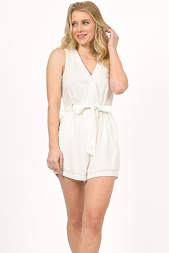 Back To Life V-Neck Romper