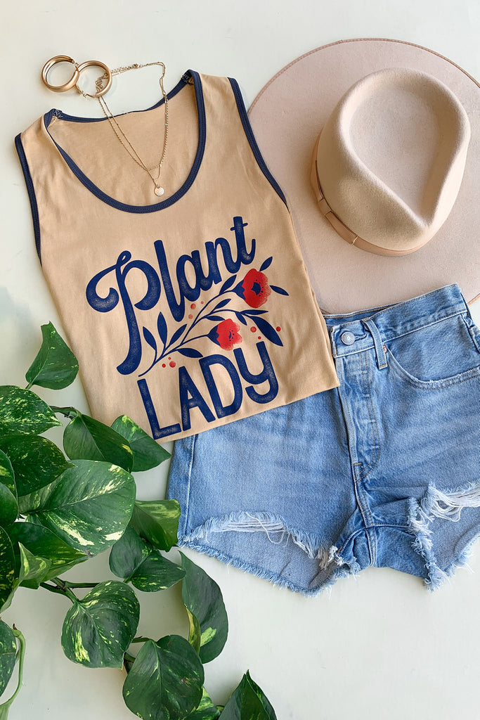 Plant Lady Grahpic Tee