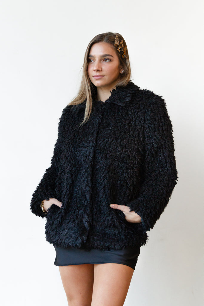After Party Sherpa Jacket