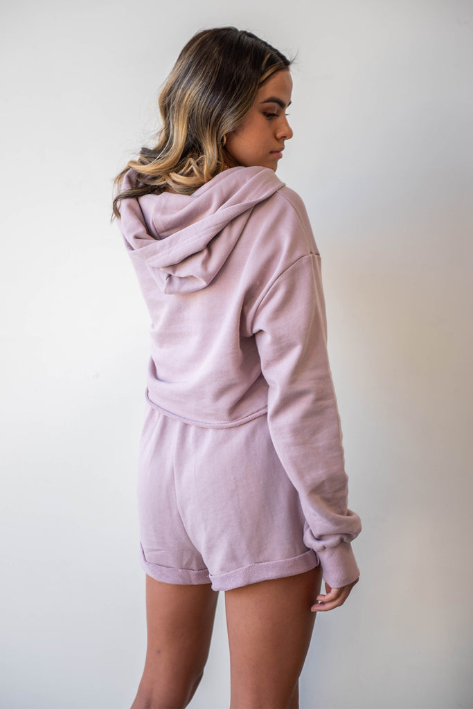 fabric hooded sweater