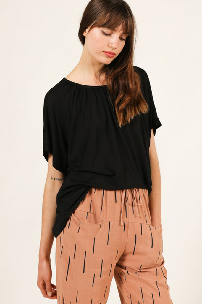 Move On Over Short Sleeve Top by For Good