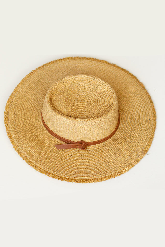 Wild Winds Straw Hat