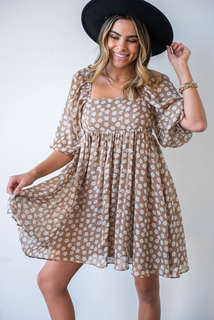 Perfect Strangers Babydoll Dress By For Good