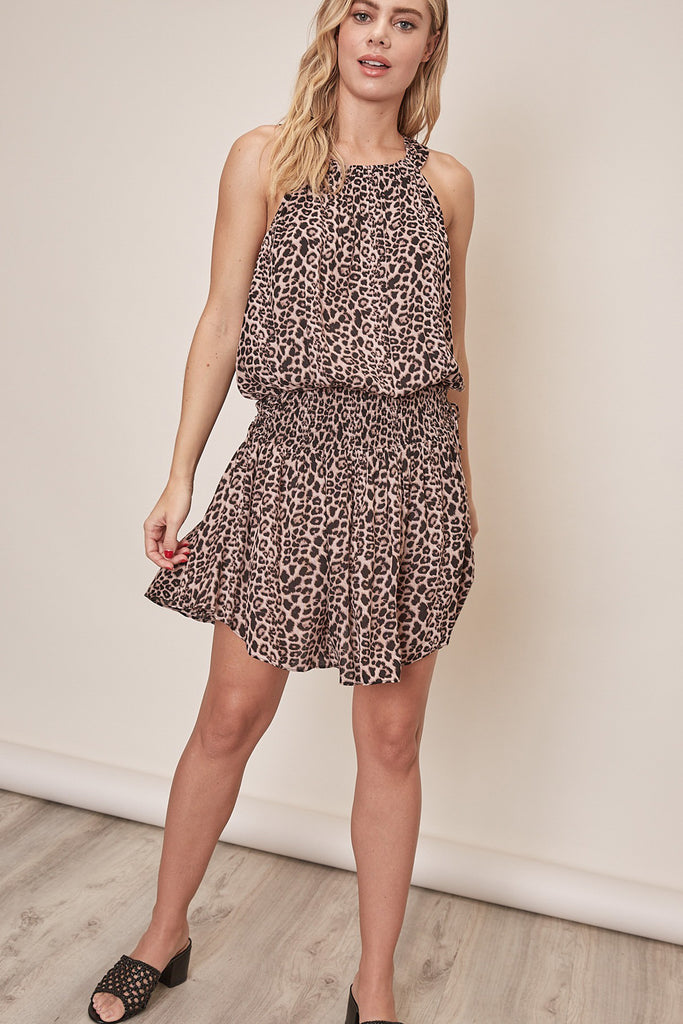 Shape of You Animal Print Dress by For Good