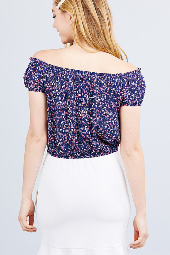 What A Delight Floral Top