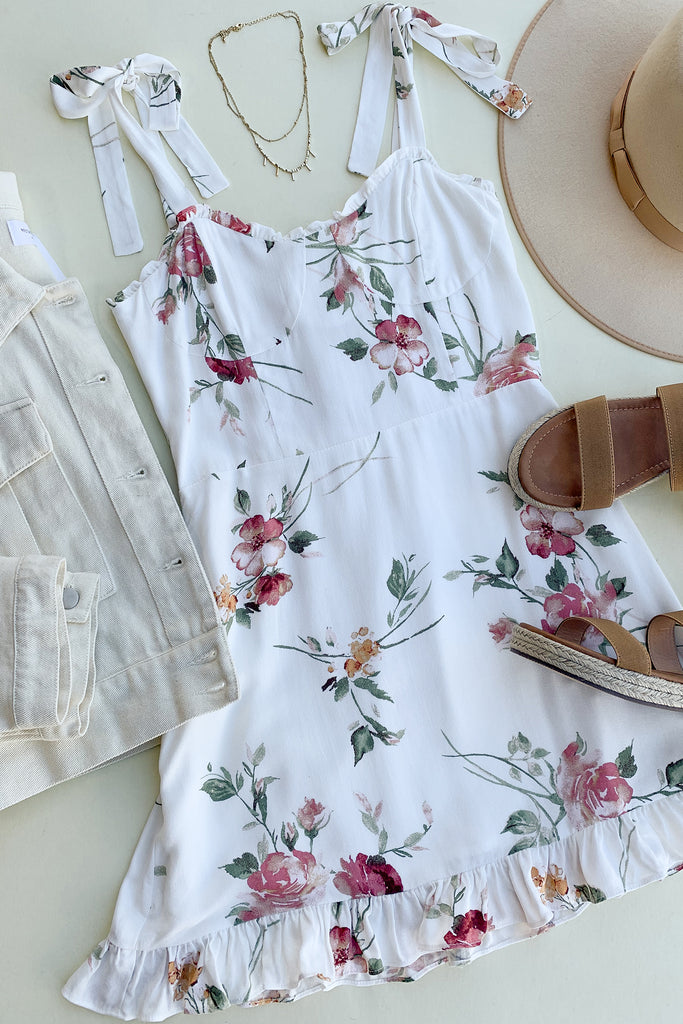 Look Alive Floral Dress