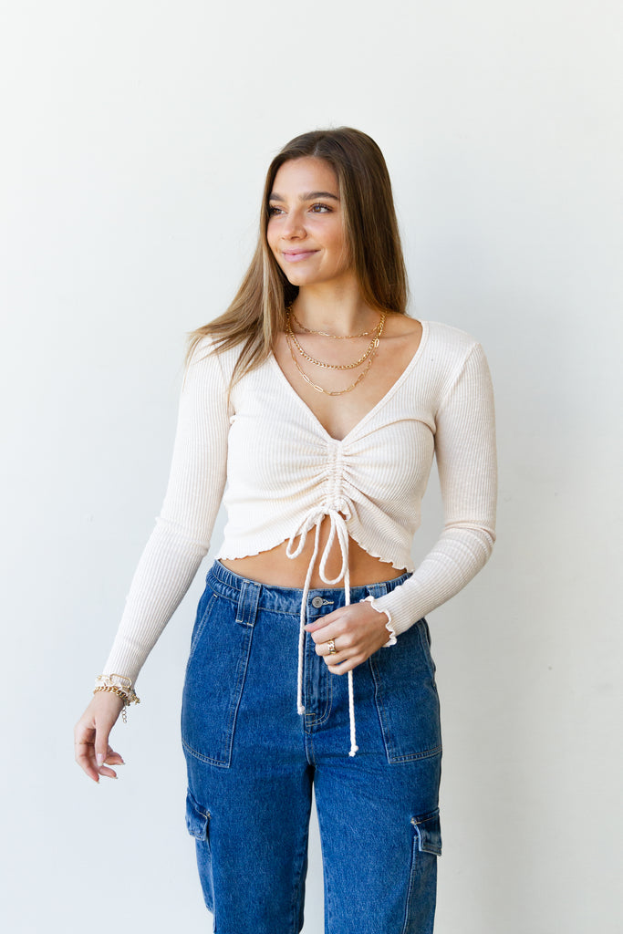Blown Away Ruched Top