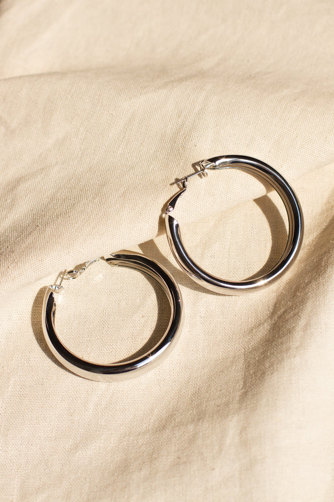 Find Your Way Hoop Earrings