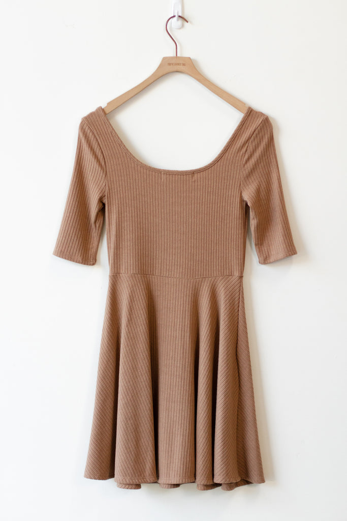 Why Now Ribbed Dress