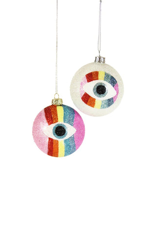Spectrum Eyeball Ornament by For Good