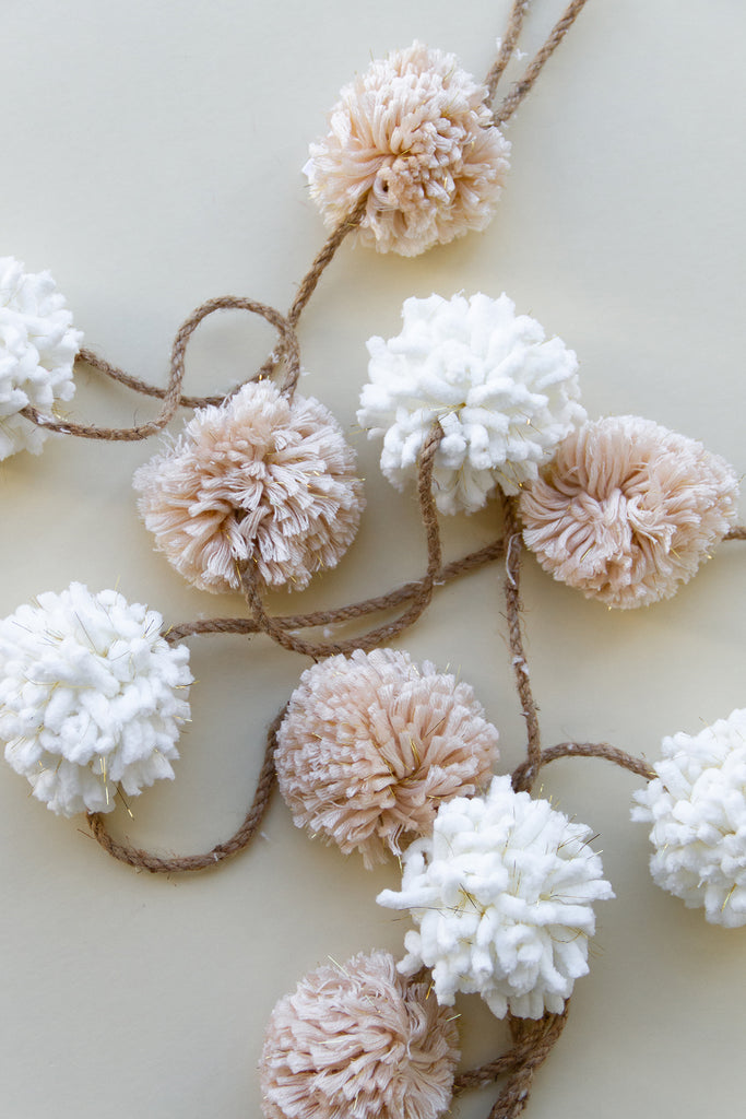 Pom Pom Garland by For Good