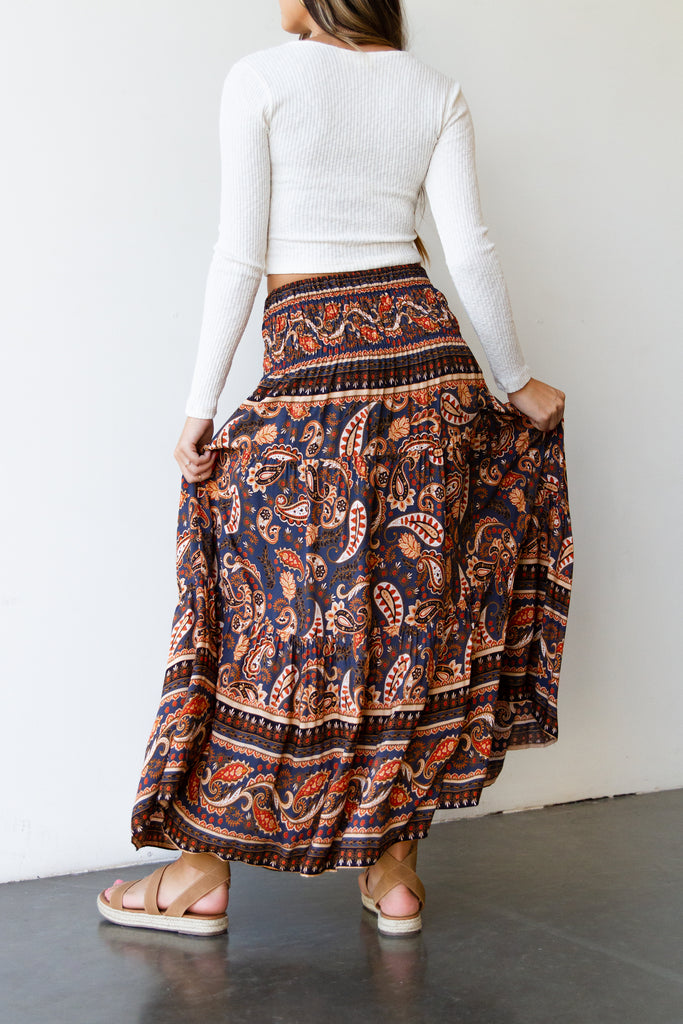 Desert Vibes Maxi Skirt By For Good