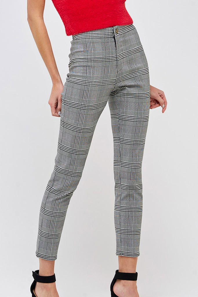 Stop And Go Plaid Pants