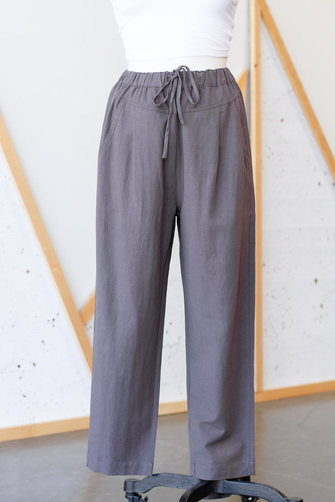 Take Another Look Drawstring Pants by For Good