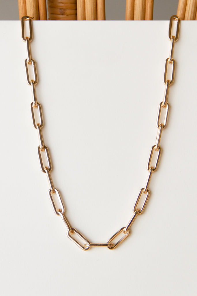 Slide Away Chain Necklace