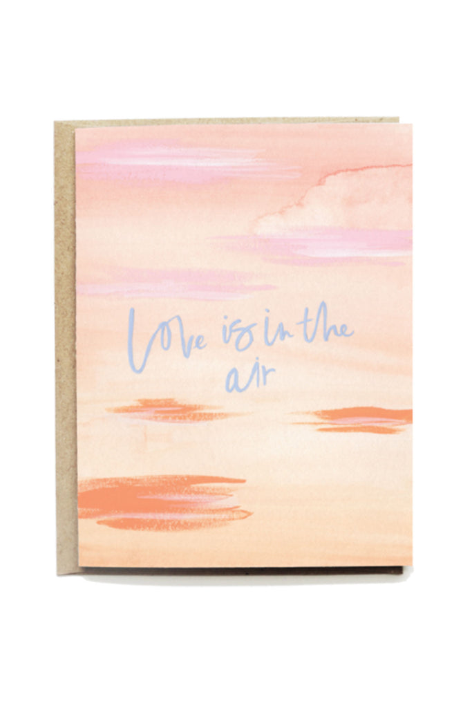 Love Is In The Air Card by Pen + Pillar