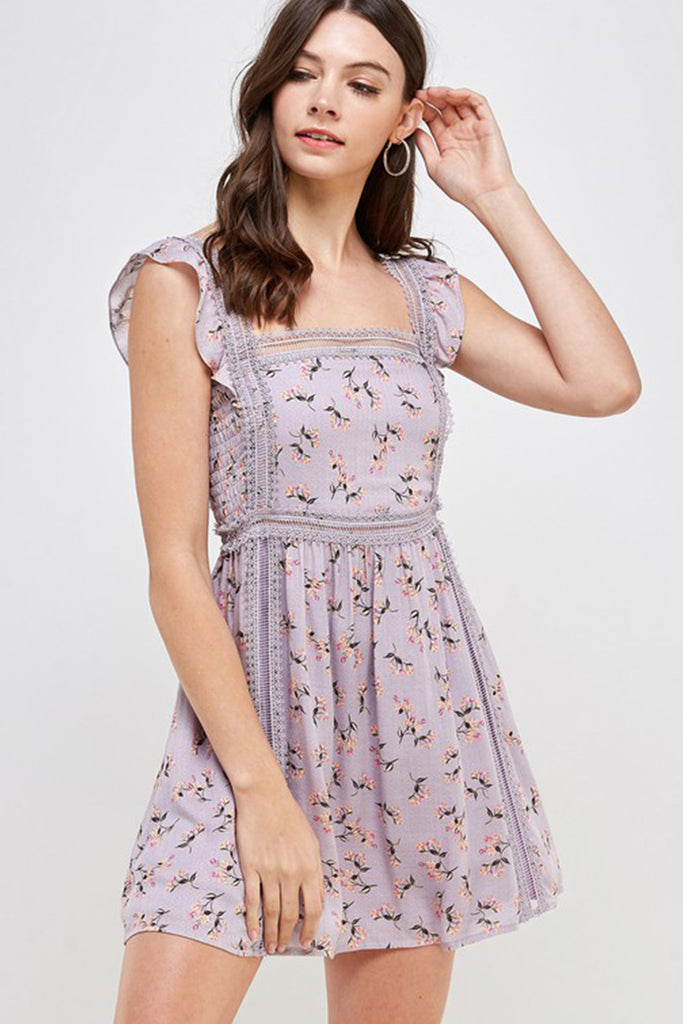 Along For The Ride Floral Dress