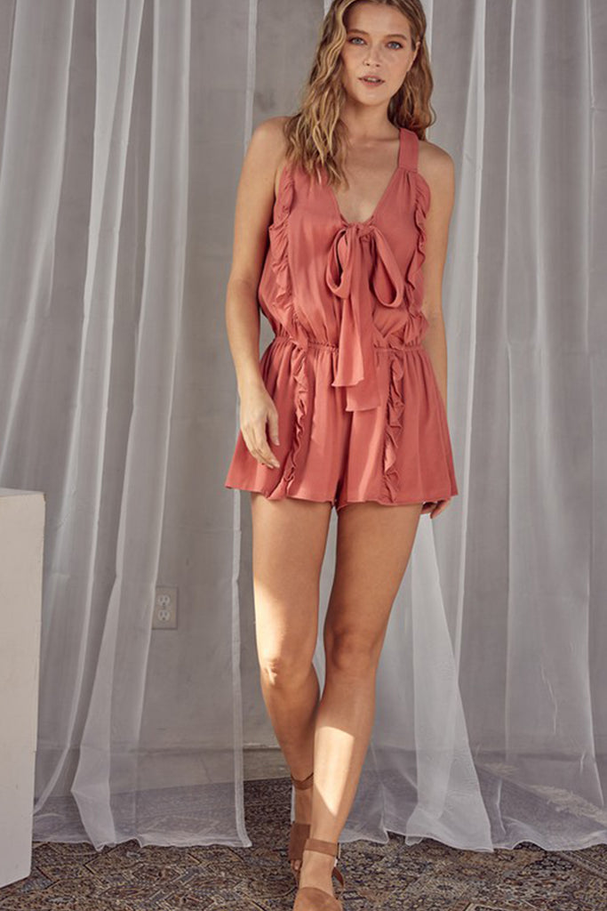 This Feeling Sleeveless Romper