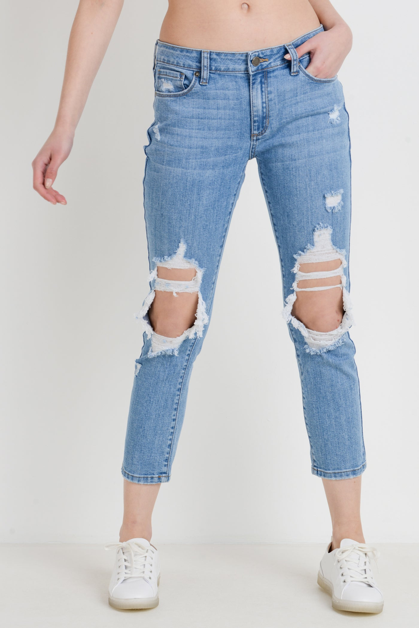 Different Beat Boyfriend Jeans