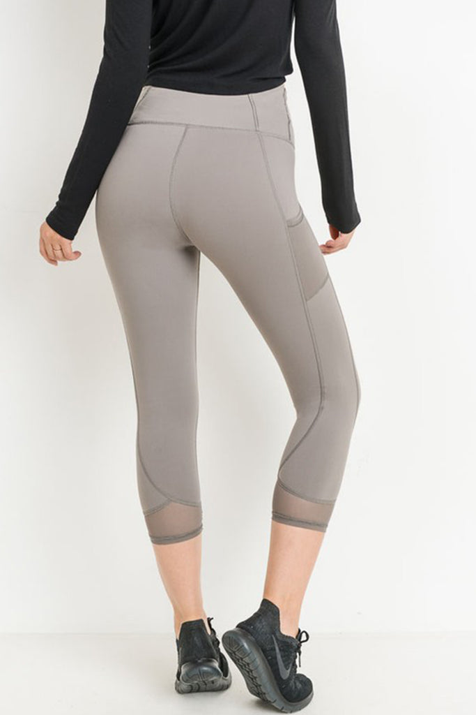 Let The Music Play Capri Leggings by For Good